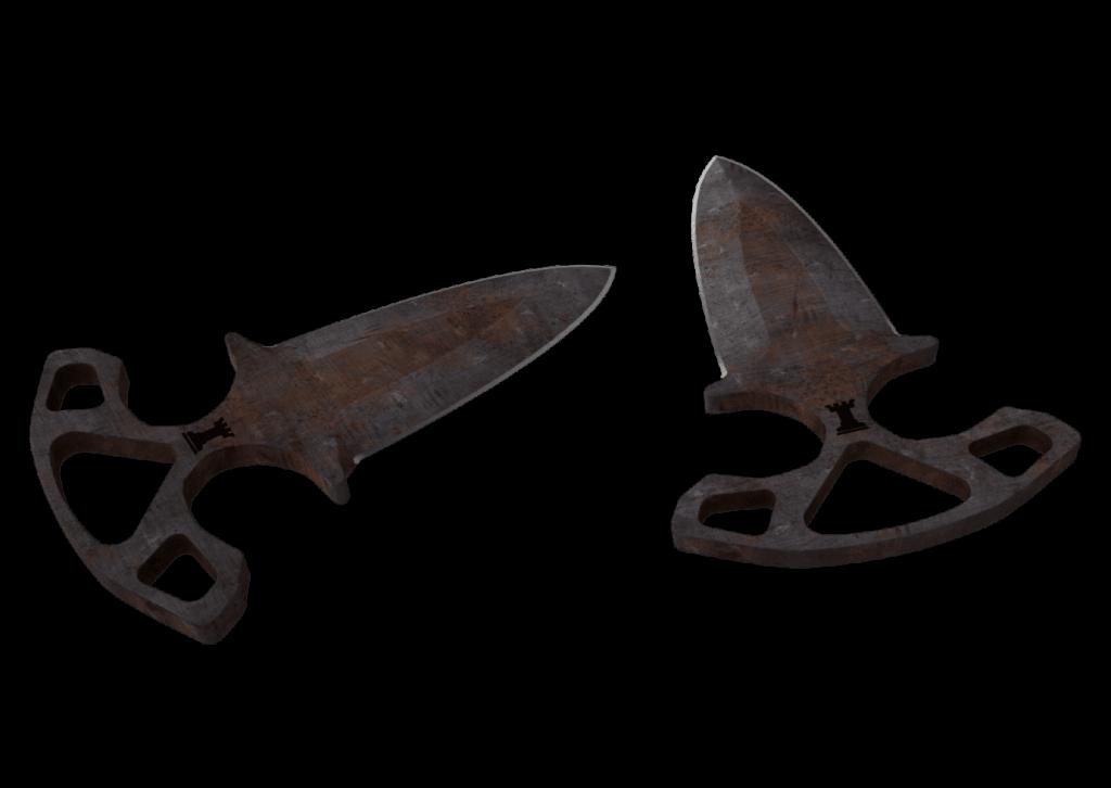 Shadow Daggers - Rust Coat