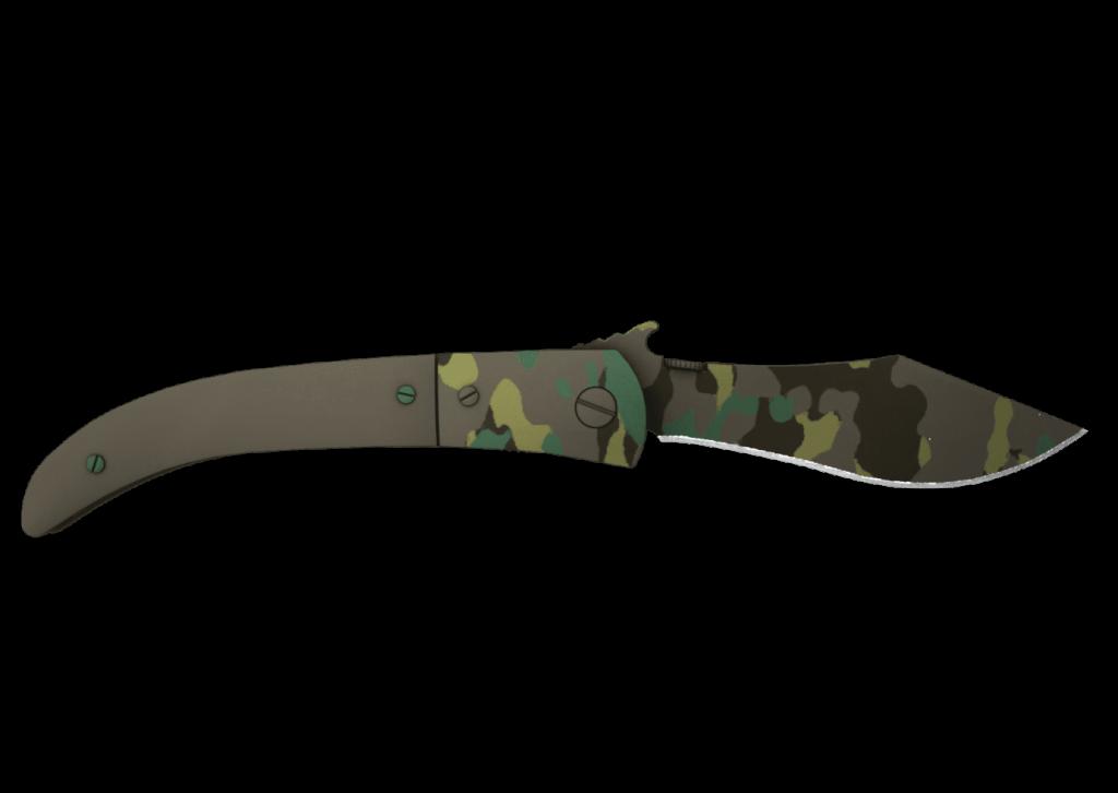 Navaja Knife - Boreal Forest