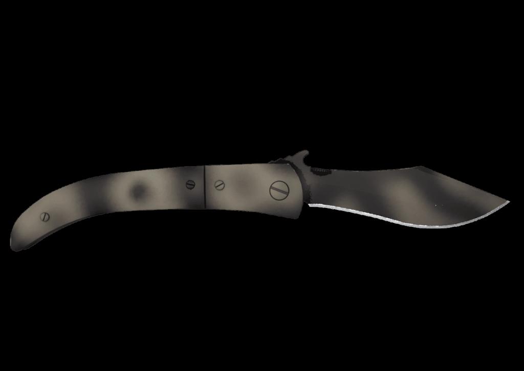 Navaja Knife - Scorched